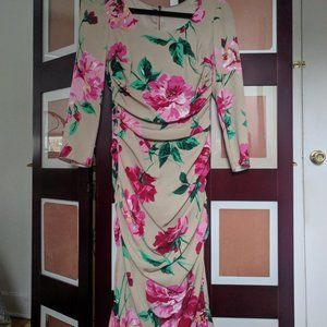 NWT Peony printed dress from Dolce and Gabbana